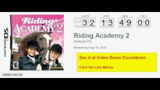 Riding Academy 2 DS Countdown