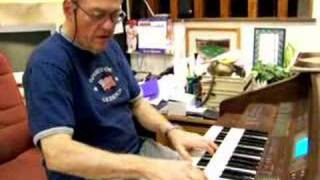 "Ernie Hays plays ""Here Comes the King"""