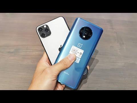 OnePlus 7T Vs IPhone 11 Pro Max - пример записи видео