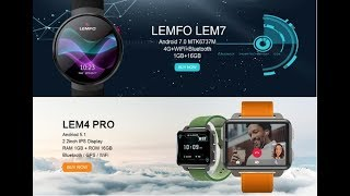 AliExpress: LEMFO LEM7 4G Android 7.1 Smart Watch Review