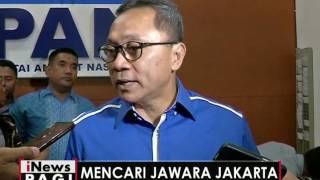 PAN tanggapi baik hasil survei terkait Agus Harimurti Yudhoyono - iNews Pagi 06/10