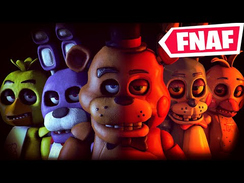 Five Nights At Freddy's (ALL FIVE NIGHTS) In Fortnite Creative (Codes In Comments)