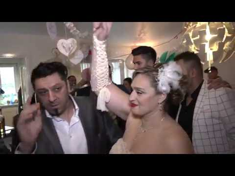 Svadba Berlin kod Goran Kostic mladenci Giovanni i Kristina 30.12.2017 deo 1
