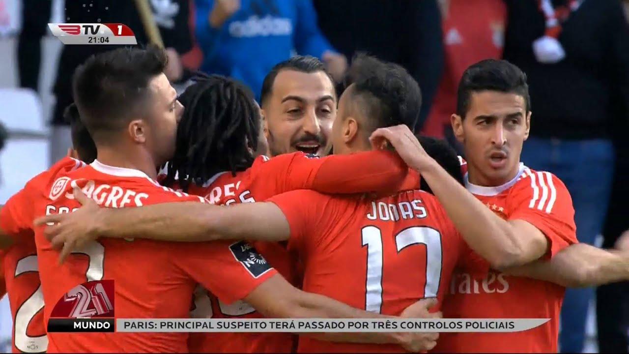 Resumo Benfica: Resumo Benfica 3 X Rio Ave 1- Liga Nos 20-12-2015