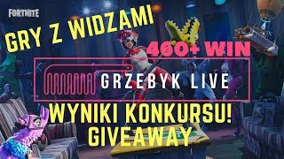 FORTNITE/GAMES WITH VIEWERS-SEE DESCRIPTION/460 + WIN/GIVEAWAY/RESULTS OF THE COMPETITION/WE DO BAMBIKÓW