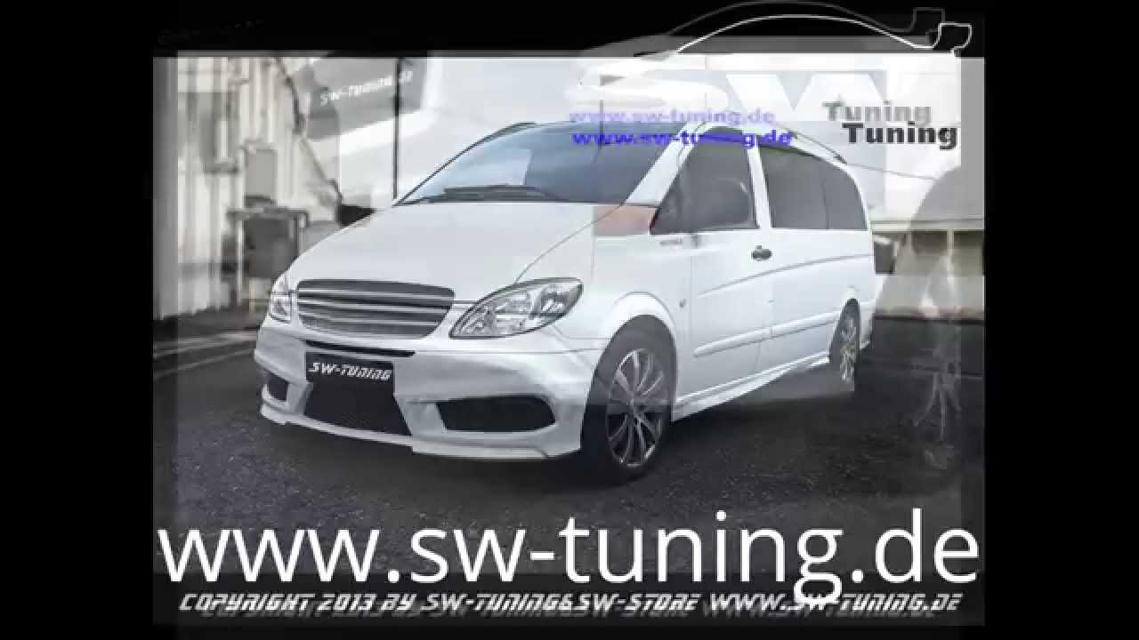 swt look bodykit f r mercedes vito w639 by sw tuning youtube. Black Bedroom Furniture Sets. Home Design Ideas