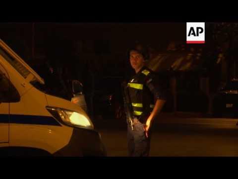 Violent incident near Israeli embassy in Amman