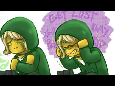 Lloyd Garmadon the green ninja