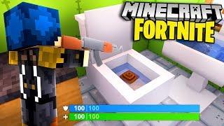 Minecraft ITA - LA NUOVA MAPPA DI FORTNITE NEL BAGNO GIGANTE