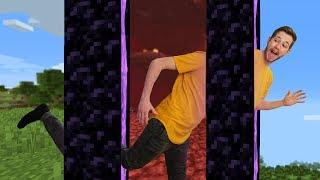 Making A Super Teleporter On Hardcore Mode!   Minecraft