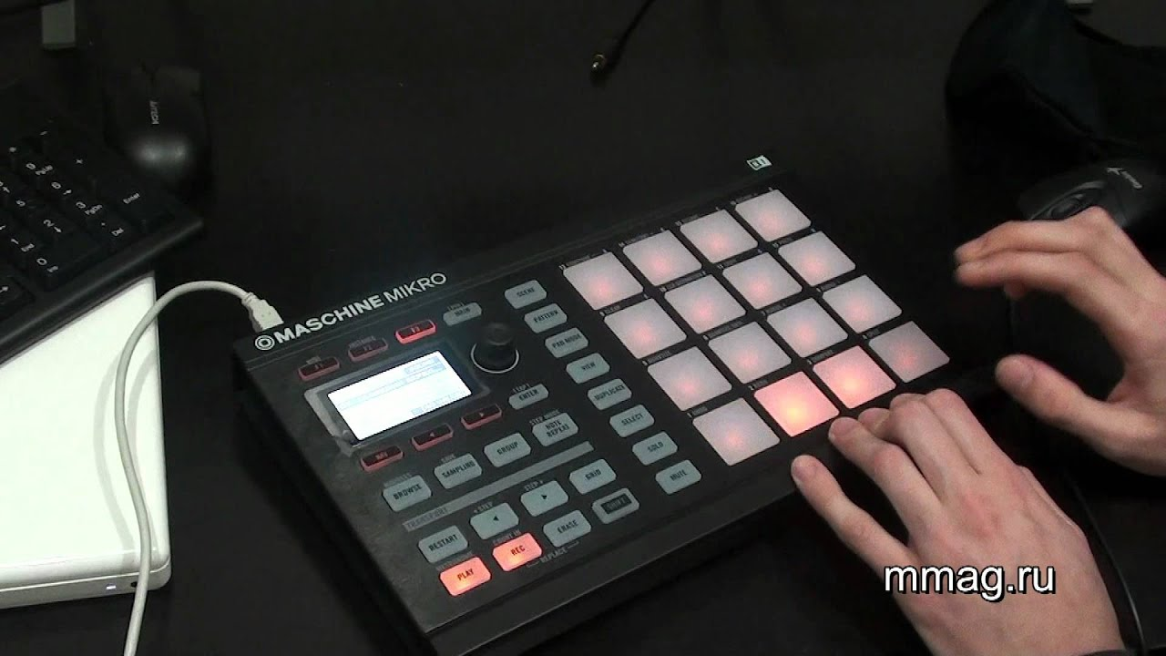 native instruments maschine mikro video review youtube. Black Bedroom Furniture Sets. Home Design Ideas