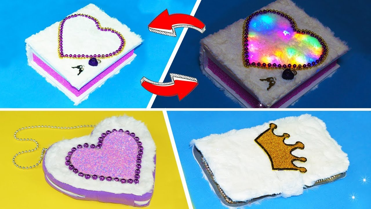 3 Diy Amazing Crafts For Girls Youtube