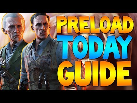 How to Preload Black Ops 4 Zombies Today! (PS4 Preload Guide)