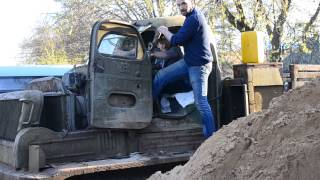 видео Тяжелый артиллерийский тягач АТ-Т