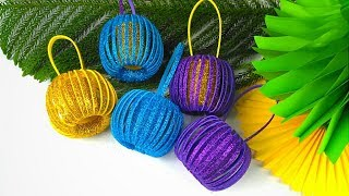 Christmas Ornaments DIY | Christmas Decorations Ideas | Paper Crafts For School