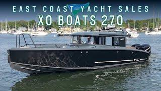 XO Boats 270 Cabin OB For Sale