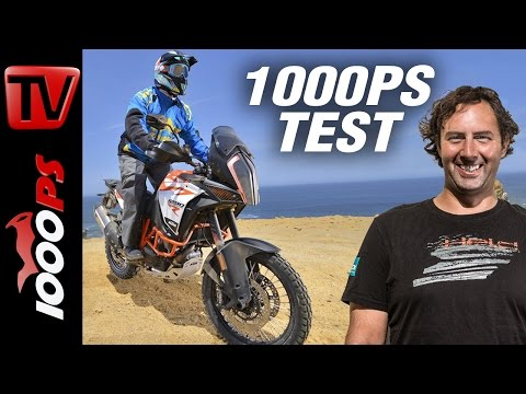 1000PS Test - KTM Super Adventure R 2017 | Offroad-Flaggschiff in Peru