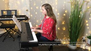 """Forrest Drums"" from Faber Piano Adventures - Murfreesboro Accelerated Piano Lab"