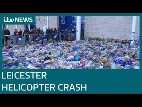 Five people including Leicester City's Thai owner killed in helicopter crash| ITV News
