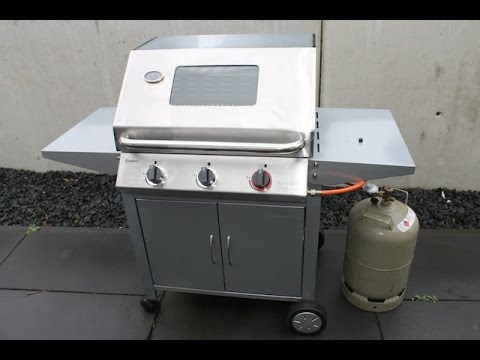 Enders Gasgrill Kansas Pro 3 Sik Turbo : Enders monroe turbo unboxing und einweihung bbq youtube