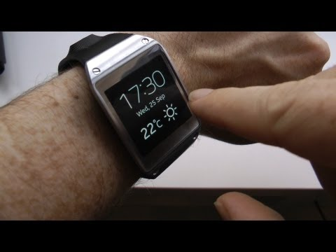 Samsung Galaxy Gear smartwatch hands-on review