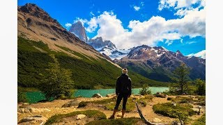 Hiking to Laguna Torre in El Chalten, Argentina.  What an experience! Hiking/Mountains/Landscape.