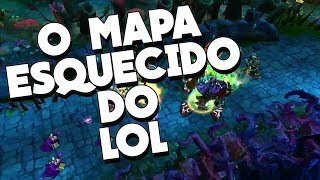 COMO ERA A ANTIGA TWISTED TREELINE, O MAPA SECRETO QUE A RIOT LITERALMENTE DELETOU DO LOL