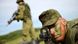 French Army Training (Armée de terre) - French Mechanized Infantry Assault Enemy Compound