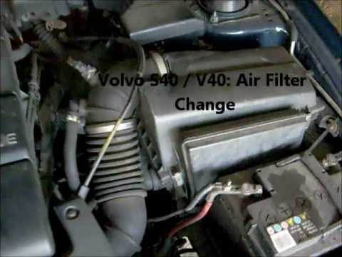 2006 Audi A6 Fuse Box Location How Do You Change An Air Filter On A Volvo S40 V40 Youtube