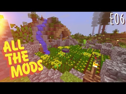 All the Mods - E06 - Empowered Canola, Farming Station, and ESD (Modded Minecraft 1.10.2)