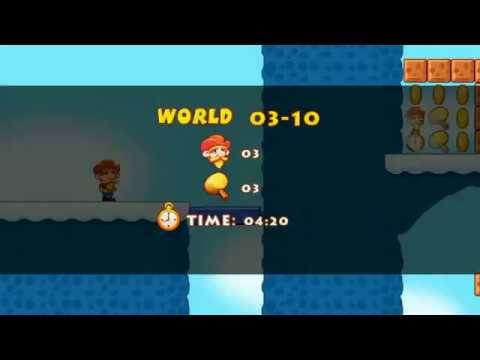 Super jabber jump fast  game play 03-10 world 3 level 10.. Game like super mario