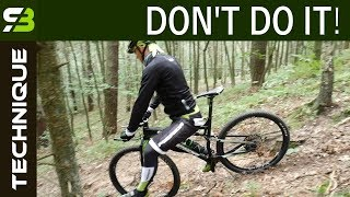 Never Ride Down The Hill In This Way! How To Ride Steep Descents. MTB Technique. thumbnail