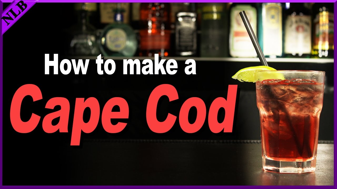 how to make a cape cod drink