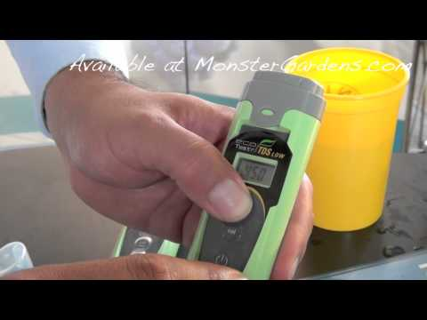 Oakton pH EC PPM Meter DEMO Directions & Tips Online Hydroponic Store | Calibrate Eco Tester TDS