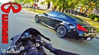 ДОБРЯК НА ИНФИНИТИ ПЫТАЛСЯ | Infiniti G37s vs Honda Fireblade