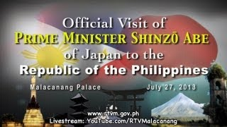 Joint Press Statement between Philippines and Japan