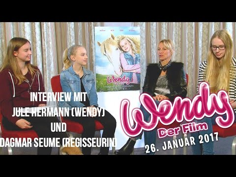 Wendy - Der Film: INTERVIEW mit Jule Hermann und Dagmar Seume