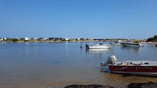 Salt water Kayaking and camping Charlestown breachway campground Rhode Island