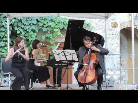 Weber - Trio for Flute, Cello and Piano