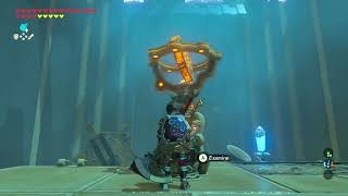 How to solve Moving Targets (Kamia Omuna Shrine) - Breath of the Wild - Ex Champion Daruk's Song