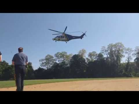 Red Bank Regional High School Project Prom| New Jersey State Police Helicopter Takeoff