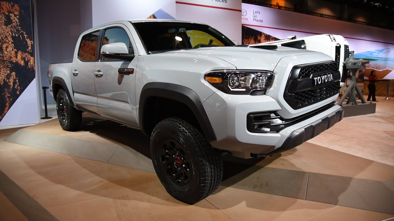 2017 Toyota Tacoma TRD Pro - 2016 Chicago Auto Show - YouTube