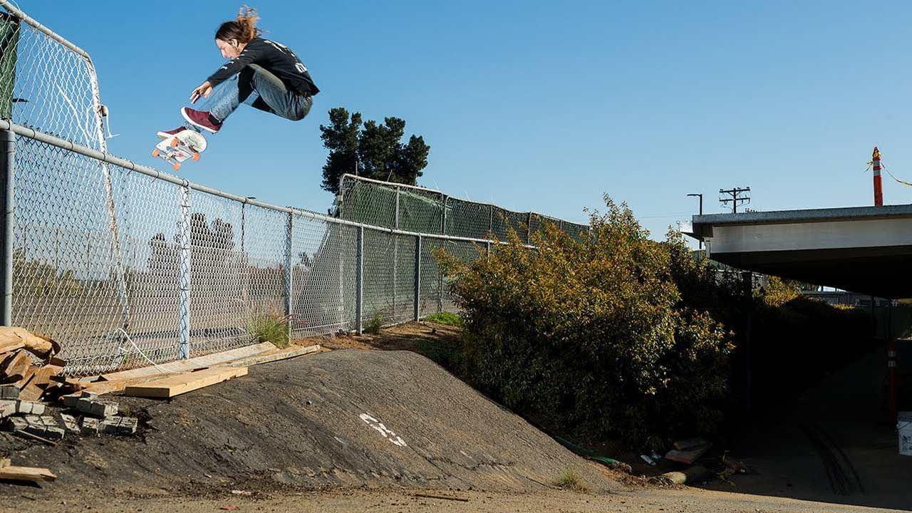 Riley Hawk Skateboarding
