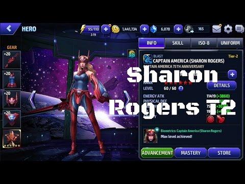 [รีวิว] Sharon Rogers Tier 2