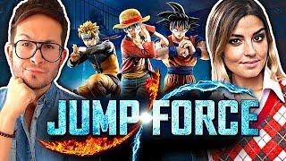 JUMP FORCE, notre test coup de poing 🔥 Dragon Ball Z, Naruto, Yu Gi Oh, City Hunter...