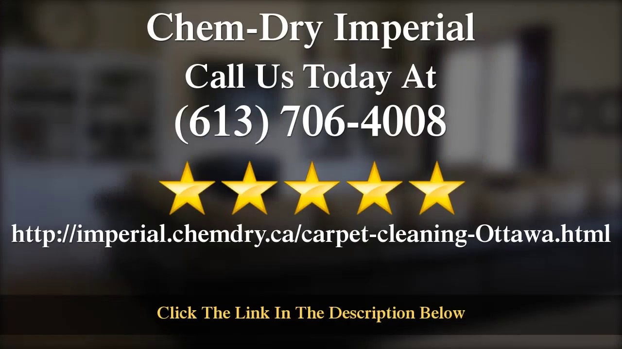Chem Dry Imperial Area Rug Cleaning Kanata Excellent 5