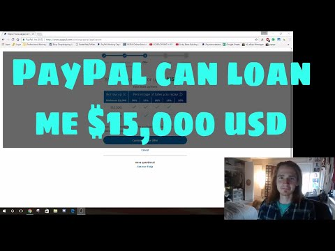 Drop Shipping eBay - Did You Know You Can Loan Over $10,000 From PayPal?