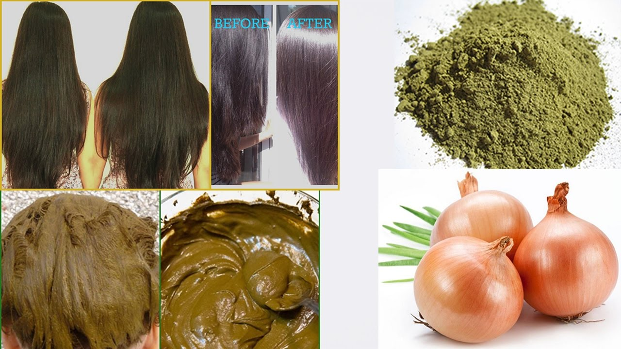 Stop Hair Loss Henna And Onion Cure Hair Loss And Promote Hair