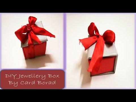 Handmade Jewellery Box | Card Board Crafting Ideas By Amazing