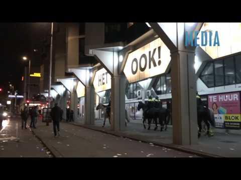 Demonstratie bij Turks consulaat in Rotterdam loopt uit op confrontatie